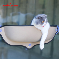 Window Cat Hammock Bed Longer Sofa Cushion Hanging Shelf Seat with Suction Cup