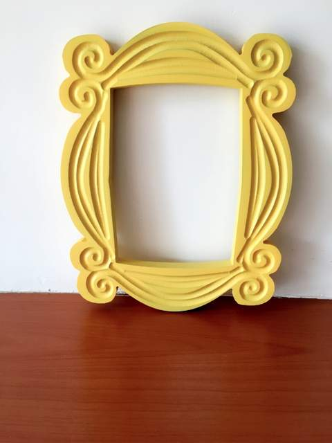 Online Shop New Friends Frame Tv Show Monica Photo Frame Door Yellow