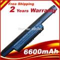 6600 mah bateria do portátil para acer aspire e1 e1-571g e1-531 g e1-571 v3-471g v3 v3-551g v3-571g v3-731 v3-771 v3-771g