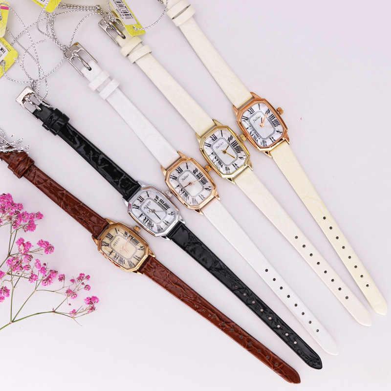 Женские часы Julius в стиле ретро с жемчугом, японские кварцевые часы, модный браслет из натуральной кожи, подарок на день рождения для девочек
