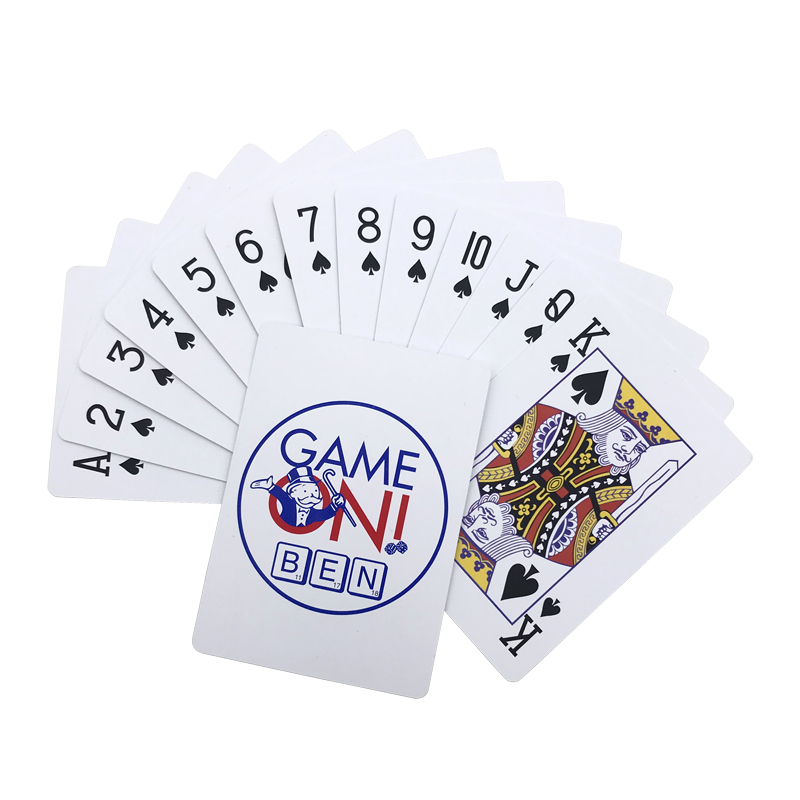 Top Grade GAME ONI BEN Texas Hold 39 em Baccarat Poker PVC Playing Cards Frosting Waterproof Poker Stars Board Games 2 48 3 46 inch in Playing Cards from Sports amp Entertainment