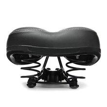 Велосипедное седло для езды на велосипеде, большое сидение для езды на велосипеде, широкое мягкое седло для езды на велосипеде, мягкая удобная подушка для езды на велосипеде, запчасти для велосипеда
