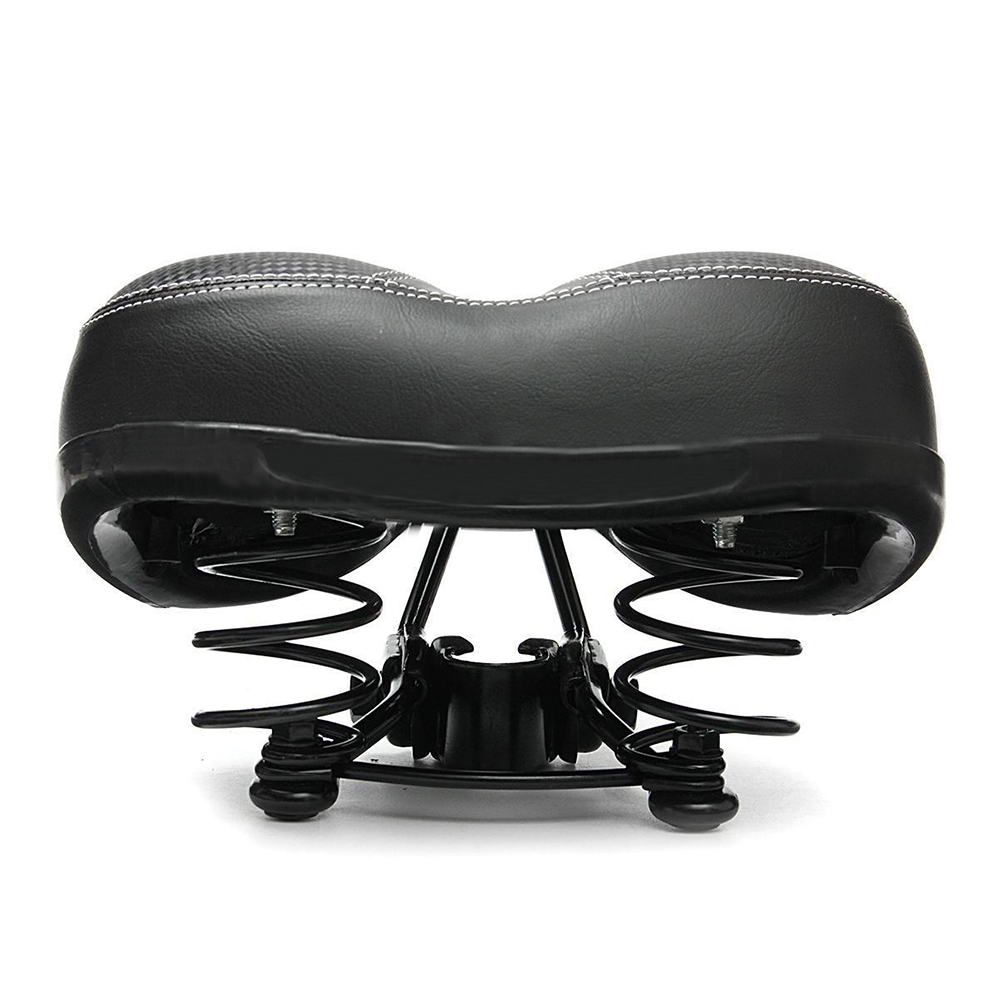 цена на Bicycle Cycling Big Bum Saddle Seat Road MTB Bike Wide Soft Pad Comfort Cushion
