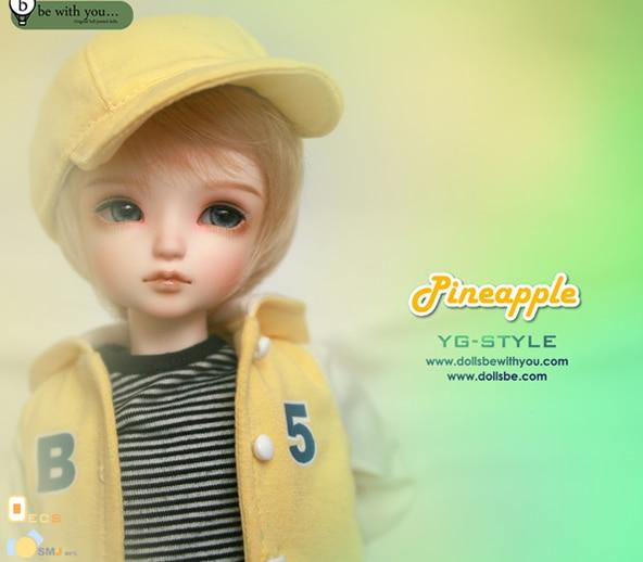 1/6 scale BJD Sweet cute kid pineapple BJD/SD lovely Resin figure doll DIY Model Toys.Not included Clothes, shoes, wigs 1 4 scale bjd lovely cute bjd sd human body kid serin