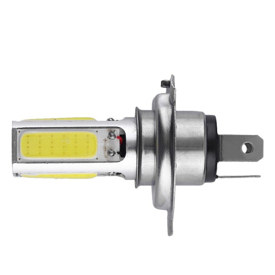 2016 1pc Super Bright White 20W H4 Car COB LED Fog Daytime Running Light Lamp DC 12V hot Selling