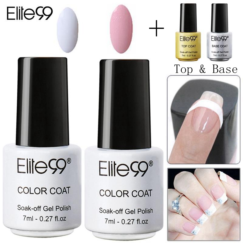 Elite99 Nail Care Equipment Set Pink White with Tip Guides ...
