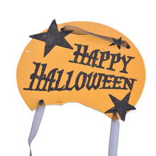 Dozzior Halloween Decoration Hanging Tag Paper Door Window Pumpkin Hanging Strips HALLOWEEN Creative Party Festival Props