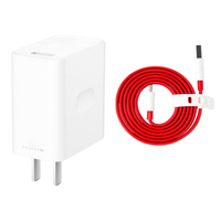 Original For Original Warp Charge 30W Power Adapter for OnePlus 7 pro US Warp Charger Quick Charging Type C USB Data Flat Cable