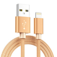 3M Ultra Long Nylon Braided USB Charging Cable for iPhone 6S 6 7 8 Plus 5S 5C 5 XS MAX XR X SE Data Sync Phone Charger
