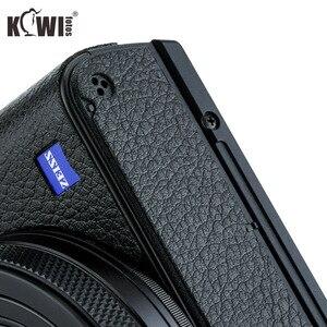 Image 4 - KIWIFOTOS KS RX100VIL Camera Da Trang Trí Cho Sony RX100 VI Với Ướt Vệ Sinh Lau Máy Ảnh Trang Trí