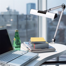 A509S LED Swing Arm Architect Desk Lamp Clamp ,8.4W Drafting LED Lamp for Reading/Working (2 Lighting Modes,4 level Dimmable)