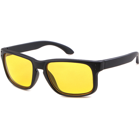 Night Vision Driving Sunglasses Men Brand Yellow Lense Glasses Goggles Vision Night Glasses for Driving Yellow Sunglasses Male Lahore