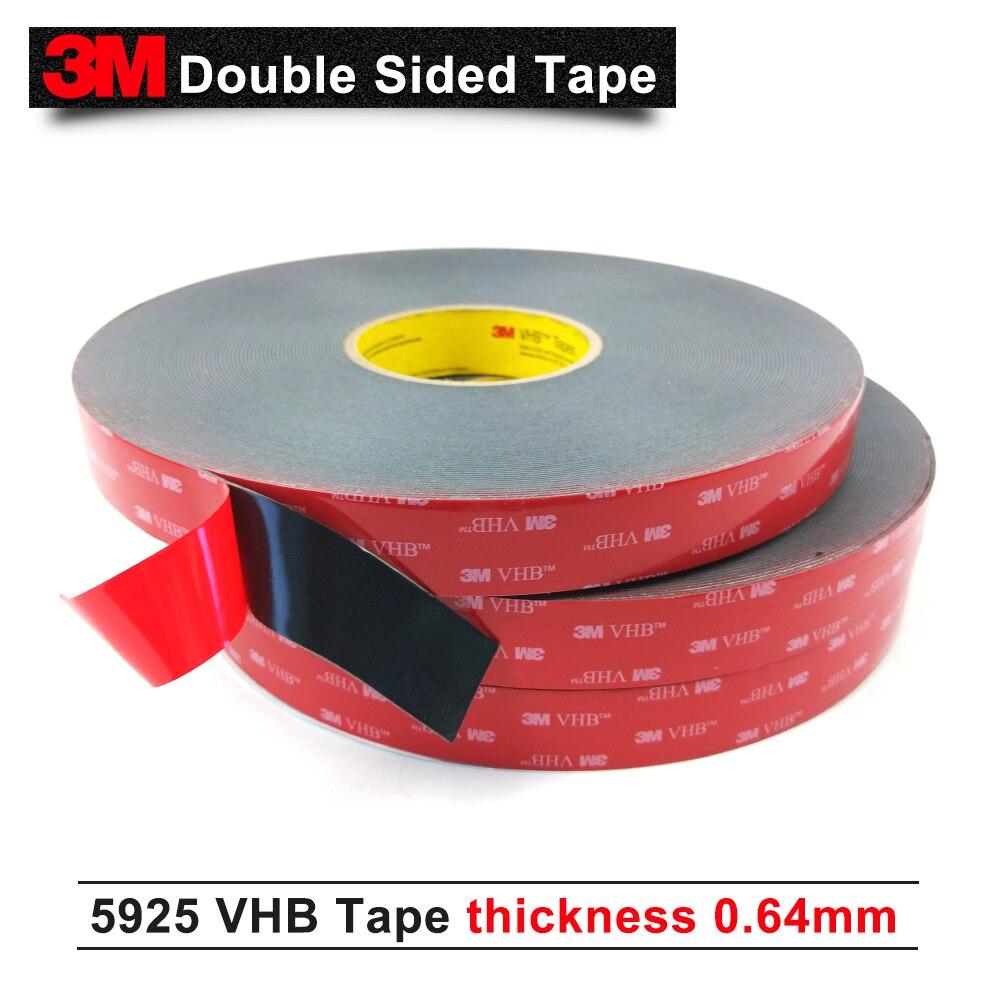 3 М VHB 5925 двусторонняя акриловая клейкая красная плёнка лента/долговечность производительность лента 15 мм* 33 м/5 рулонов/лот