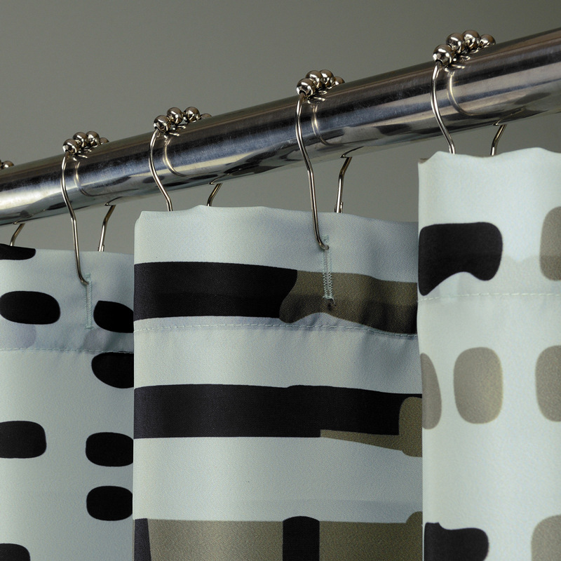 SunnyRain 1 Piece Spots Elegant Shower Curtain 200cm Water ...