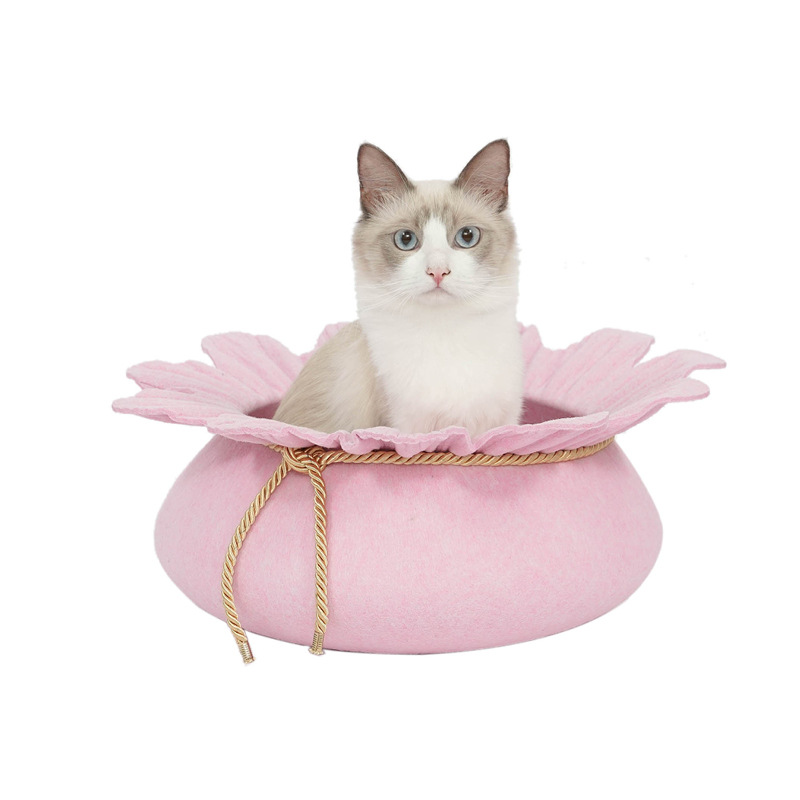 Cat House Dog Beds Pet Mats Small  cat Sleeping Warm Nest High quality cotton