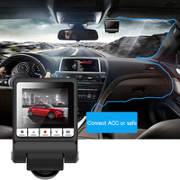 Digital Monitor Car DVR HD 1080P Dash Cam Wide Angle Easy Install Auto Video Recorder Speed Detector Driving GPS Night Vision