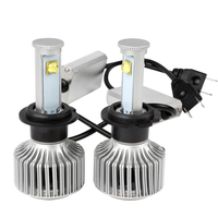 Super Bright Headlight Car Styling Version Of X7 LED All In One 40W Each Bulb Headlamp