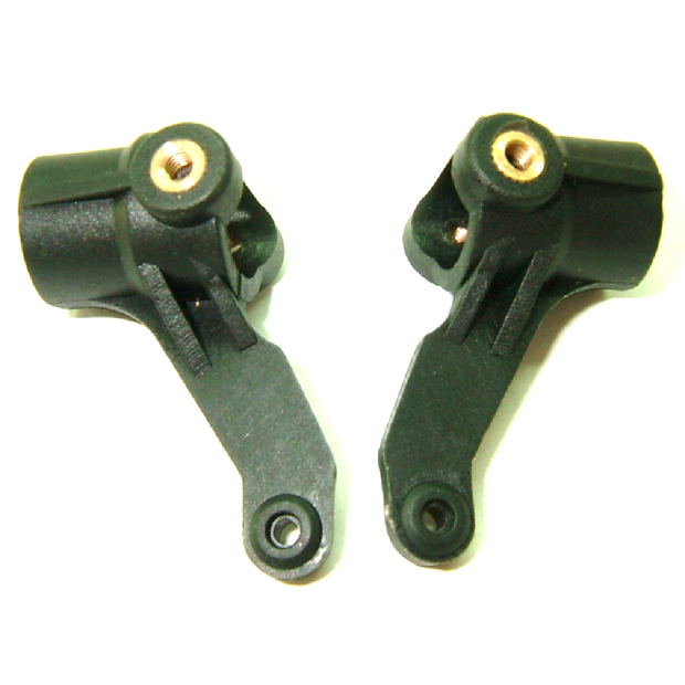 Henglong 3851 2 1 10 RC Mad truck parts Plastic Steering knuckle plastic knuckle 2sets lot