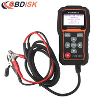 Original Foxwell BT 705 12V 24V Battery Analyzer Car Battery Tester Universal Car Tools Better Than