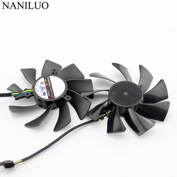 85MM FD9015U12S 4Pin DC 12V Cooling Fan Replacement For XFX HD7950 HD 7970 7950 Dual-X Graphics Video Card Cooler Fan image