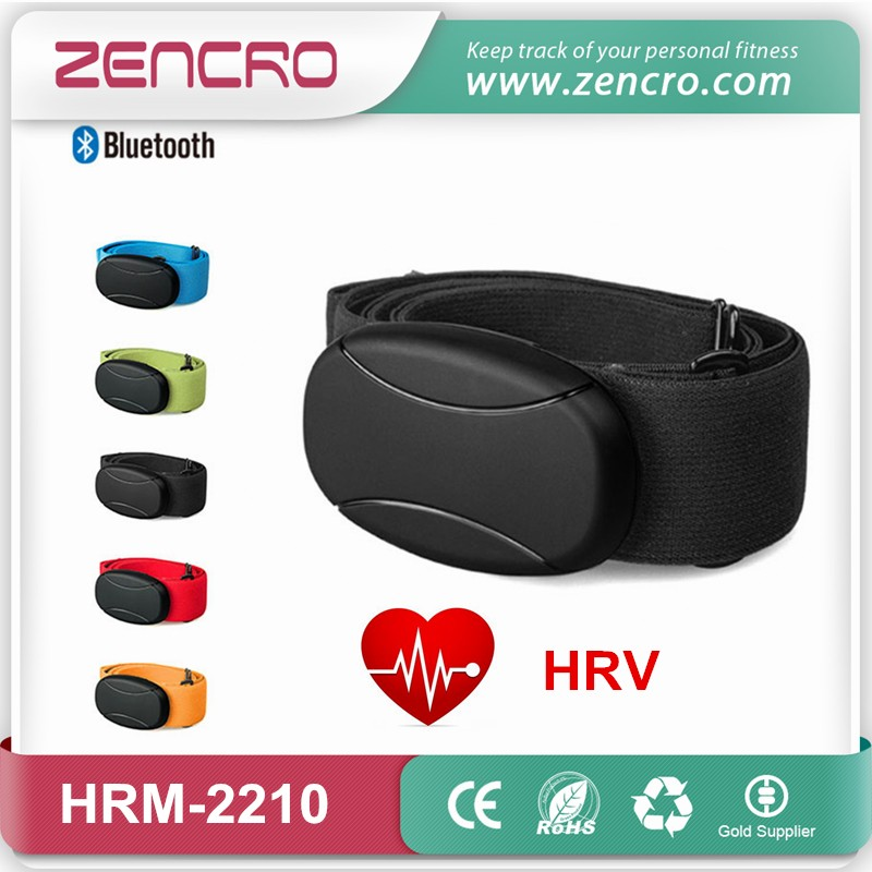 Bluetooth chest belt HRV monitor
