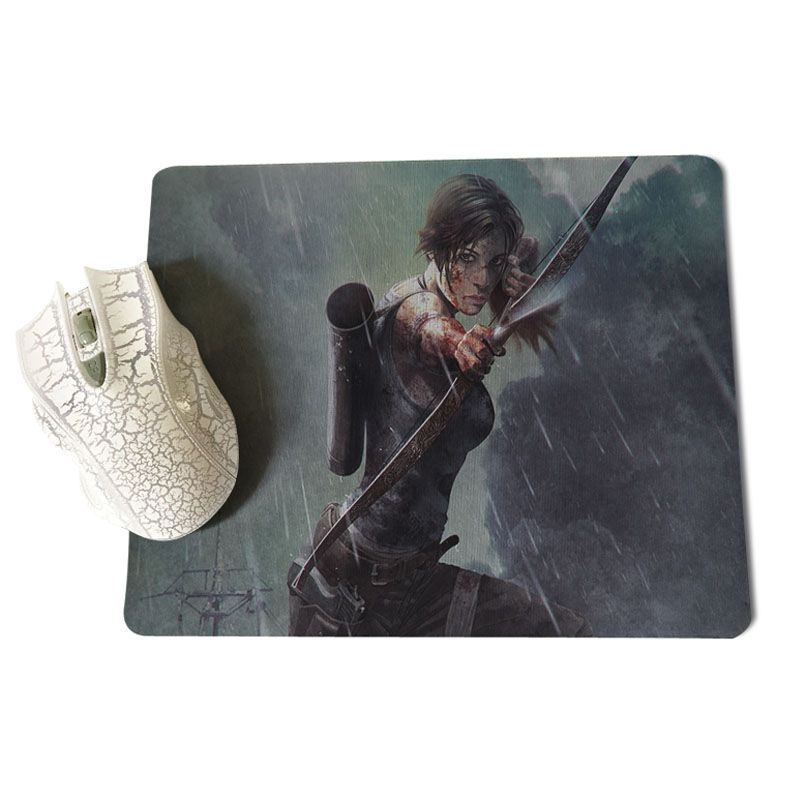 MaiYaCa Tomb Raider Game Wallpaper High Speed New Mousepad Size for 25X29cm Gaming Mousepads