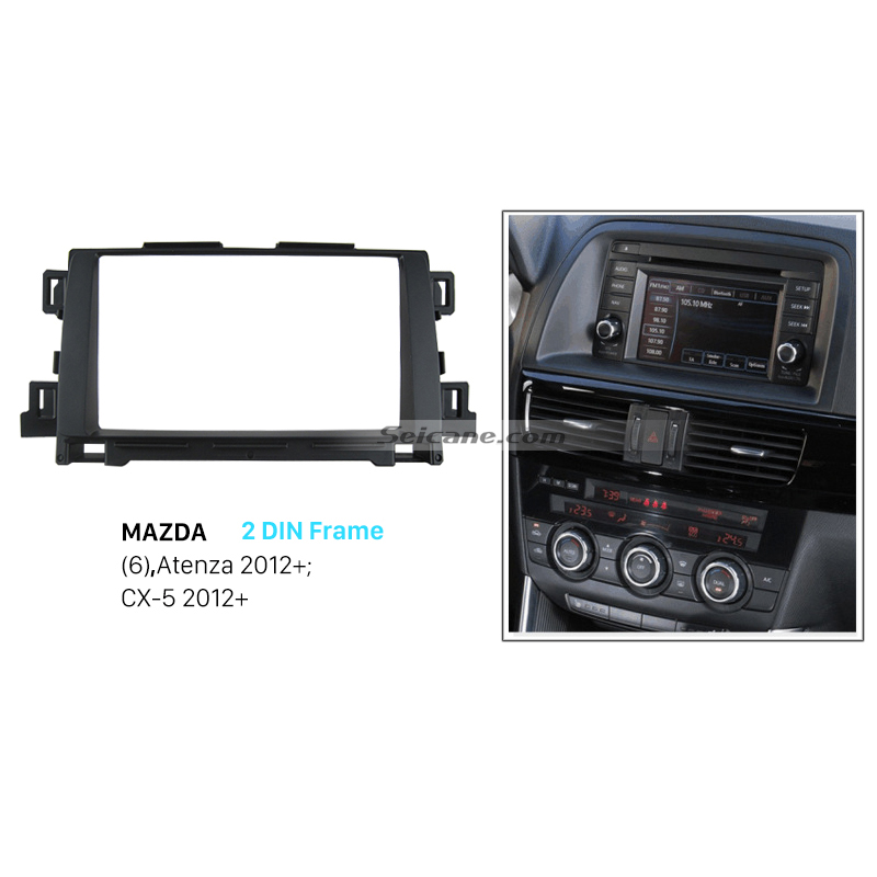Seicane 2 Din Refitting Frame Kit Car Dvd Player Radio