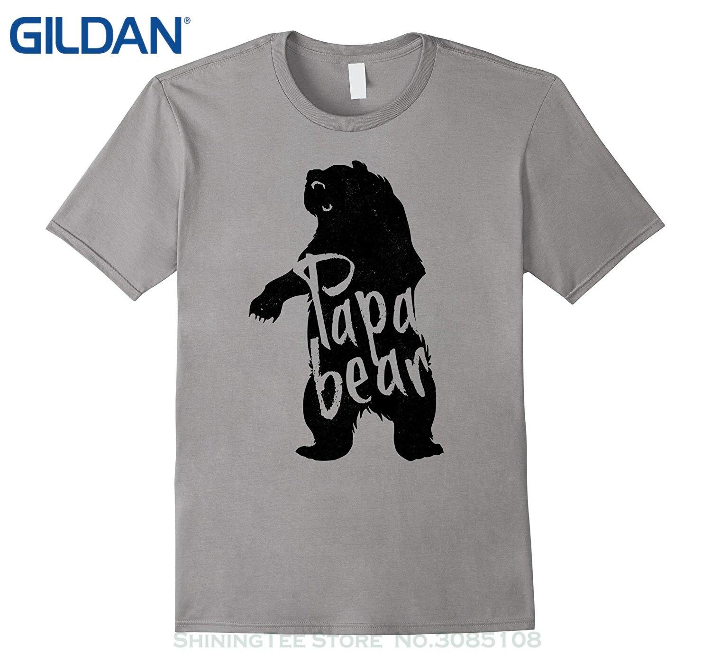 Design t shirt gildan - Gildan Design T Shirt Men S High Quality Men S Papa Bear Cool Father Dad Graphic T Shirt Design Men