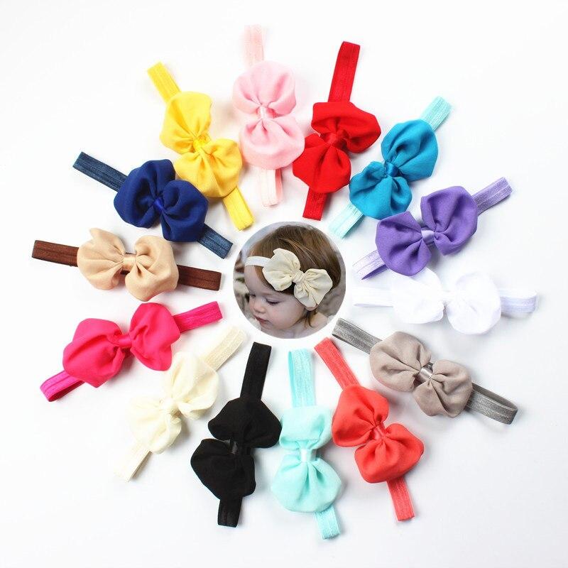 10PCS/Pack Fashion Baby Girls Colourful Bow Headbands Children Cute Hairbands   Headwear   Hair Bands Bandanas Kids Hair Accessories