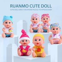 gifts a rubber doll's dolls little baby born bon kids mini toys for boys girls children's newborns