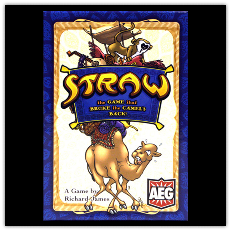 Straw Board Game 2-6 Players Cards Games Easy To Play Funny Game For Party Family game kids toy gift