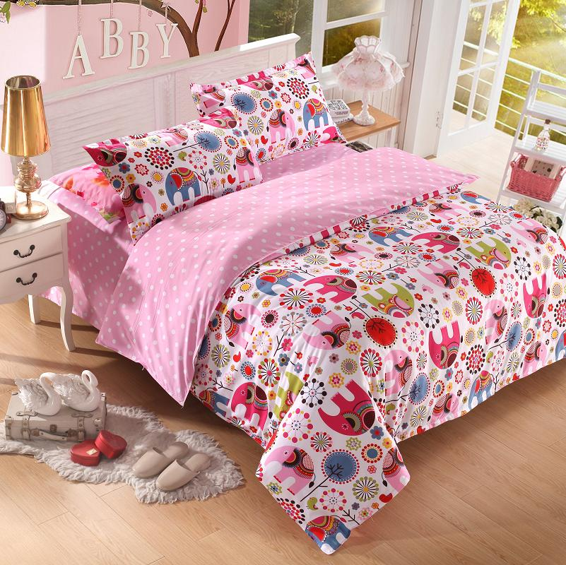 New arrival cute style bedding set plant cashmere for New style bed