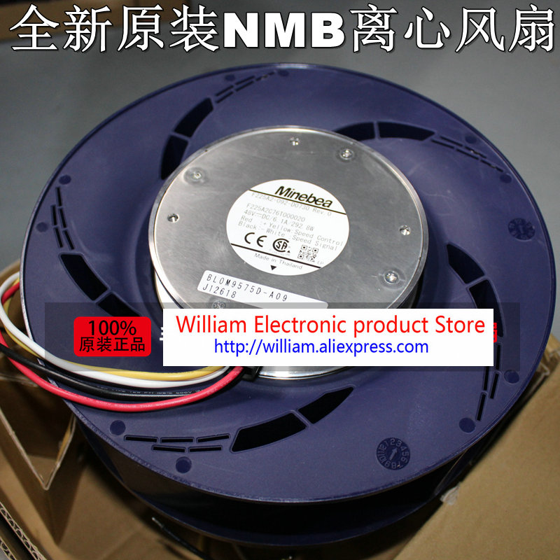 New Original NMB F225A2-092-D0730 F225A2C76T000020 DC48V 6.1A 292.8W centrifugal cooling fan new original s m c d please wait a moment