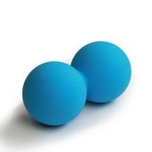 Высокая плотность мяч для Лакросса тренажерный зал фитнес-мяч Терапия упражнения для расслабления арахисовый Массажный мяч снятие стресса