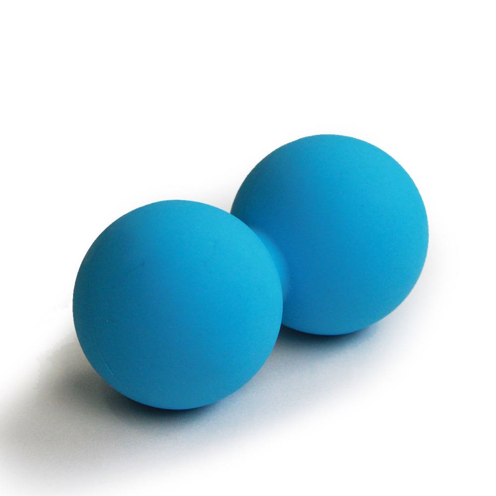 High Density Lacrosse Ball Gym Fitness Ball Therapy Relax Exercise Peanut Massage Ball Relieve Stress