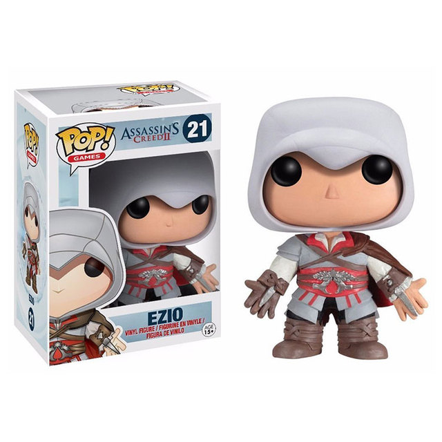 Funko pop  Horror Movie: Assassin's Creed - Ezio Vinyl Figure  Model Toy with Original Box