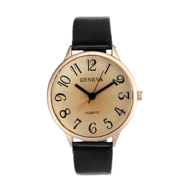 Fashion women's Creative Simple watch womens casual Watches leather ladies Quart
