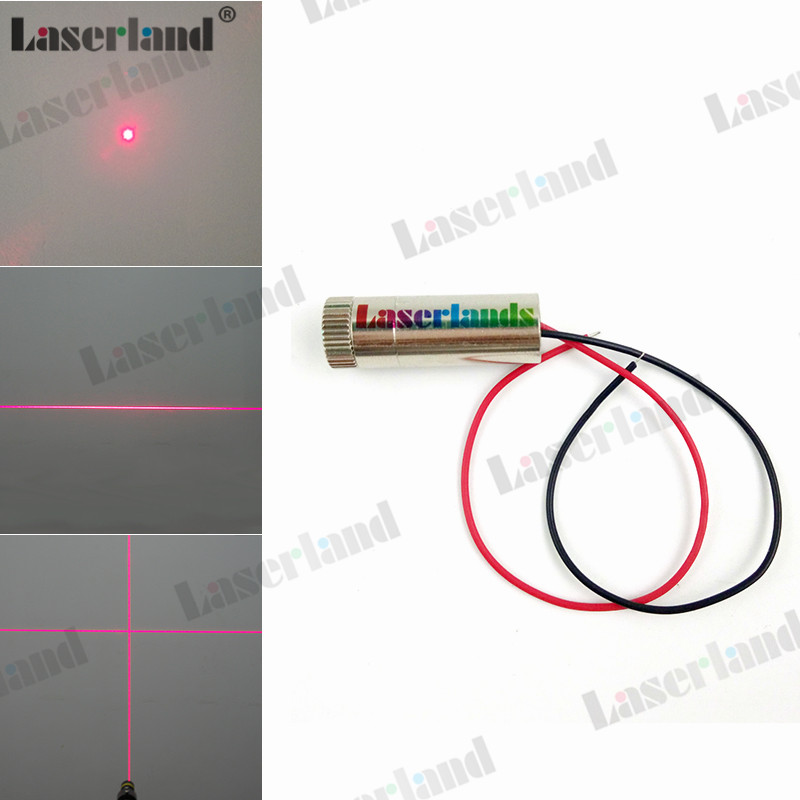 12 35mm 5mw 30mw 50mw 100mw 650nm Red Dot Line Cross