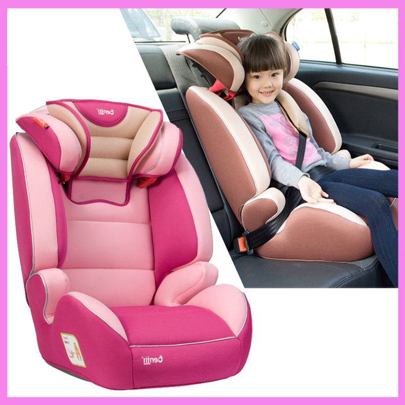 Brand Quality Portable Toddler Child Car Safety Seat ISOFIX Safety Chair Booster Seat for Kids 3~12 Y