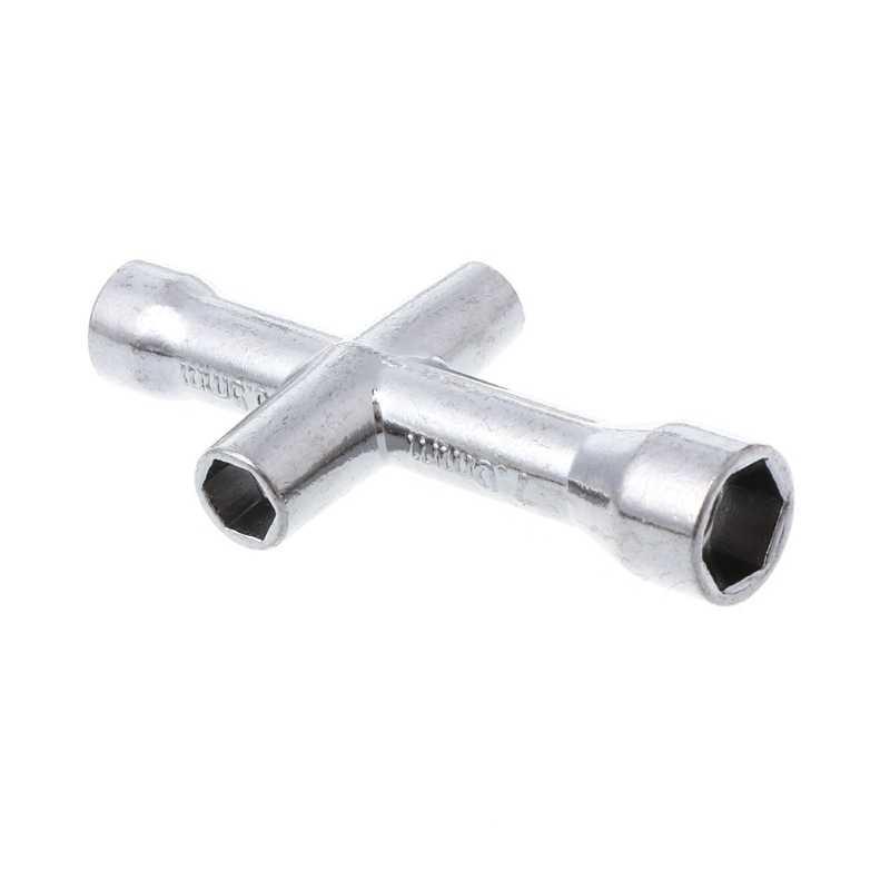 3 piezas 1 piezas RC HSP 80132 Cruz llave manga/4/5/5,5/7mm llave M4 para herramienta de rueda de coche modelo