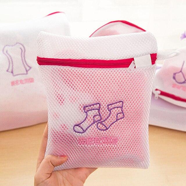 Rửa Giặt Quần Áo túi Chăm Sóc Bảo Vệ Lọc Net Đồ Lót Áo Ngực Vớ Đồ Lót Có Thể Giặt Quần Áo Máy giặt túi Kit