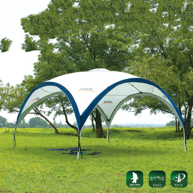BRS 3.6*3.6*m Outdoor Sunshade C&ing Hiking Summer Tent Travel Canopy Shade- & BRS 3.6*3.6*m Outdoor Sunshade Camping Hiking Summer Tent Travel ...