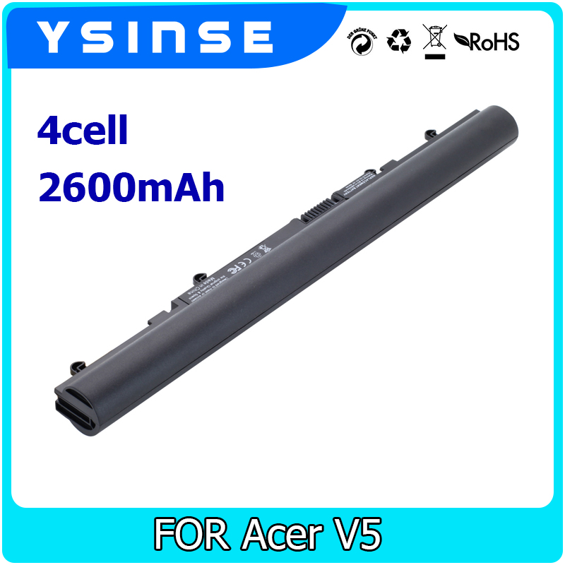 YSINSE 4CELL Laptop Battery For Acer AK.004BT.097 AL12A32 Aspire V5-431 V5-471 V5-531 V5-551 V5-571 V5-571P V5-571G touch screen glass lens digitizer 15 6 for acer aspire v5 531 v5 531g v5 531p v5 531pg v5 571 v5 571g v5 571p series