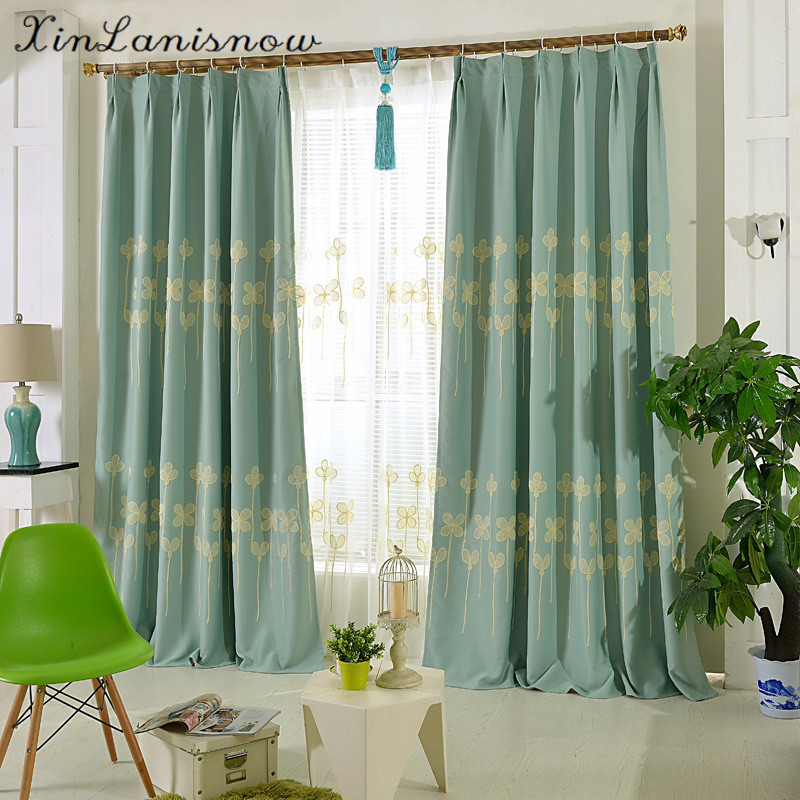 The New High-end Custom Bedroom High Precision Embroidered Window Shade Screens,Curtains for Living Dining Room Bedroom