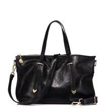 REALER genuine leather women handbag ladies messenger bags f