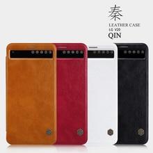 NILLKIN для LG V20 случае высокое качество кожаный чехол для LG V20 Роскошные Флип кожаный чехол с держателем карты