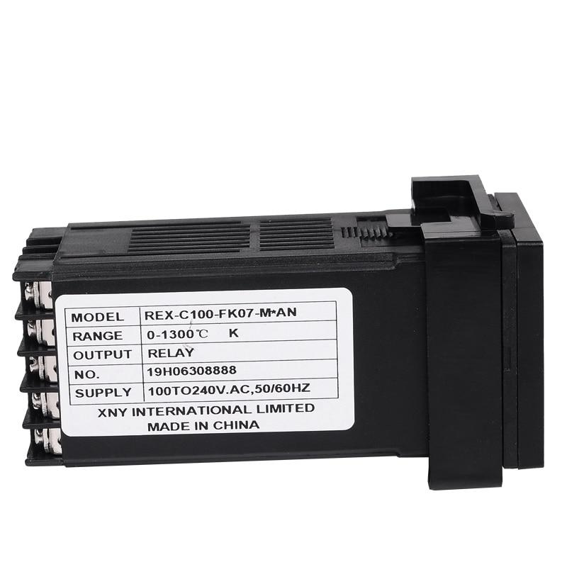 Dvigubas skaitmeninis RKC PID temperatūros valdiklis REX-C100 su - Matavimo prietaisai - Nuotrauka 4