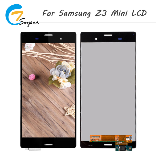 4.6 inch For sony xperia z3 mini LCD Display D5803 D5833 M55W Touch Screen Digitizer With Frame Replacement For sony z3 mini LCD
