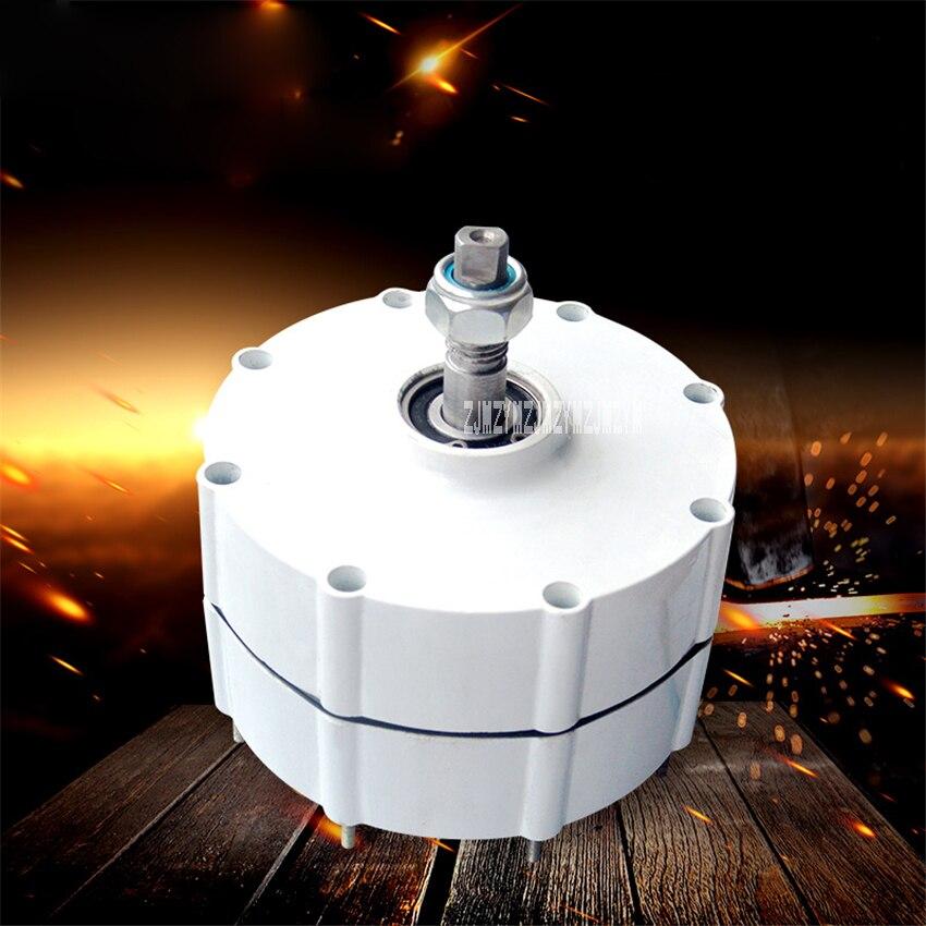 цена на NE-800W Three-phase AC Permanent Magnet Generator Alternator 800W Wind Turbine Generator IP55 24V/48V 500r/min 20MM Hot Selling