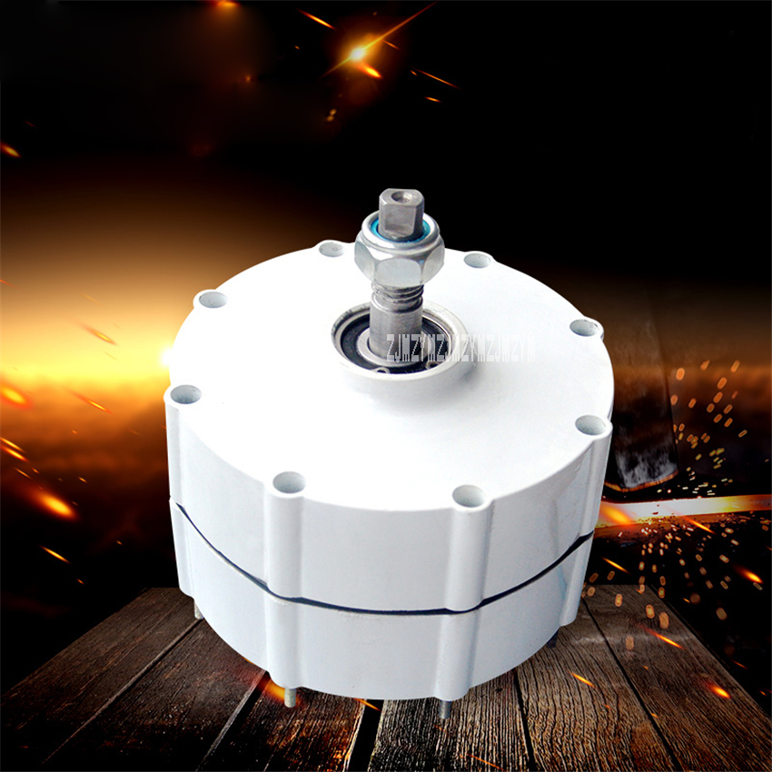 NE-800W Three-phase AC Permanent Magnet Generator Alternator 800W Wind Turbine Generator IP55 24V/48V 500r/min 20MM Hot Selling